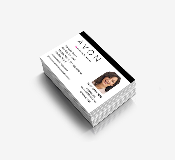 photo business cards - Avon Business Cards